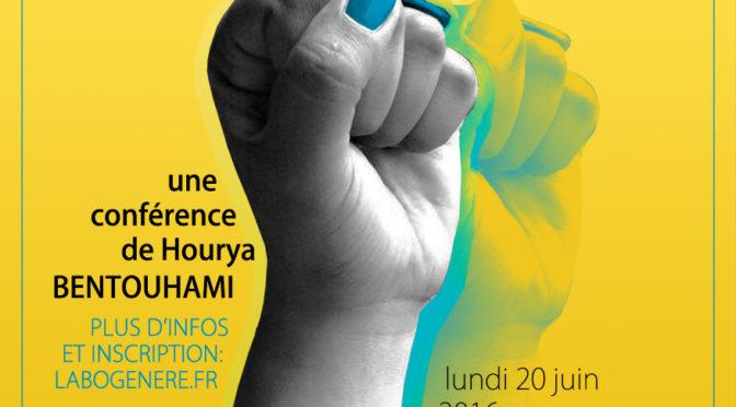 Conférence de Hourya Bentouhami «Pour un féminisme décolonial»